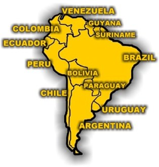 Redcosur in South America