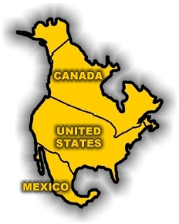 Redcosur in North America